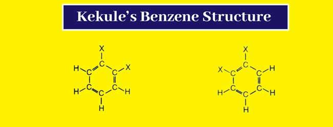 Kekule's Benzene Structures