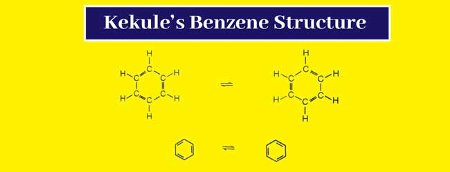 Kekule's Benzene Ring Structures