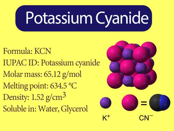 Read more about the article Potassium Cyanide Formula || What does Cyanide do to the body?