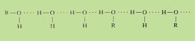 hydrogen-Bond-in-alcohol