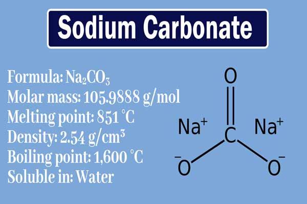 What is sodium carbonate used for? Sodium carbonate properties