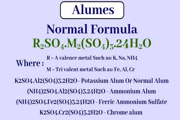 alum formula