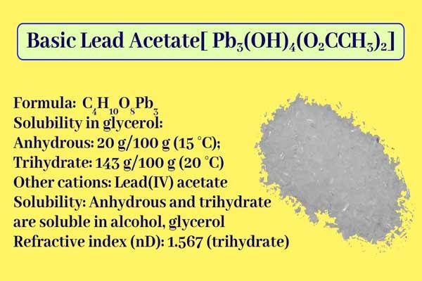 Basic Lead Acetate