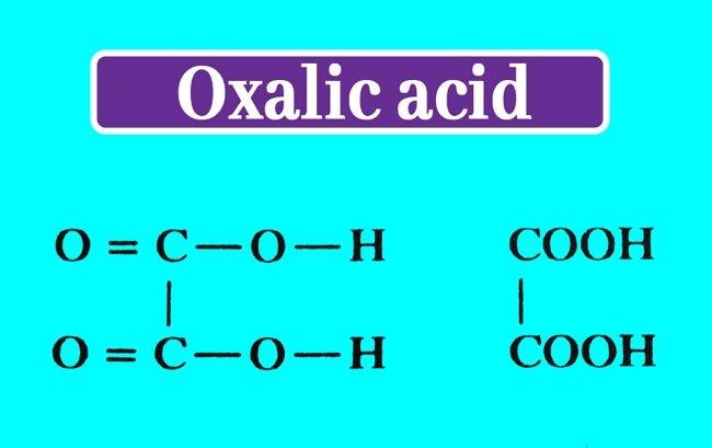 oxalic acid structure