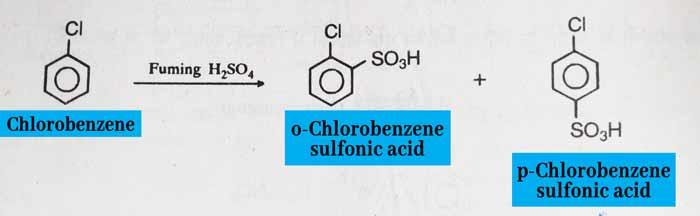 Chlorobenzene Sulfuration