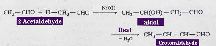 Aldehydes and ketones Aldol reaction