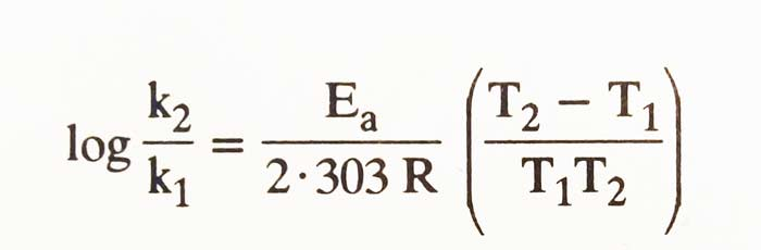 Arrhenius-equation-Temprature-effect