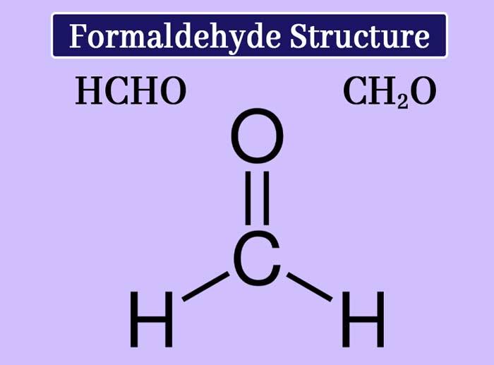 Formaldehyde structure