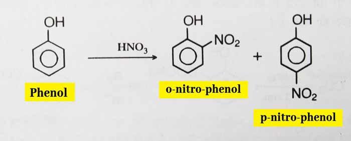 phenol nitration