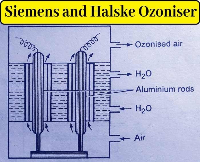 siemens and halske ozoniser